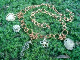 Charm Necklace by KatarniaHolbart
