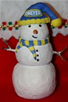Snowman I Made ~ Custom Made Snowmans Available by Lovely-DreamCatcher