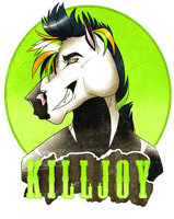 Killjoy -BADGE- by Buttsaurus-Rex