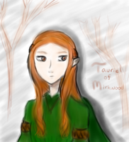 Tauriel of Mirkwood by studentsofmanga