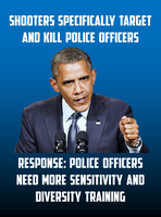 Shooting Of Police And Obama's Typical Response by CaciqueCaribe