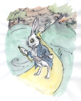The  White  Rabbit by DemonCartoonist