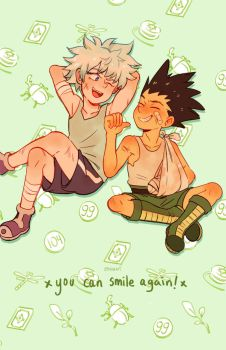 You Can Smile Again! by chiou