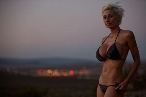 Marie Claude Bourbonnais at dusk by ANerdyBio