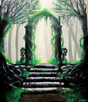 Forest Gate. by Darxen