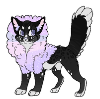 Cotton Candy Cat -Design Sale- by Errored-Adopts