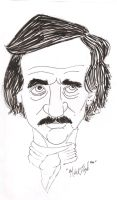 Edgar Alan Poe by meb1982