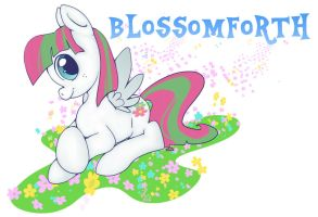 Blossomforth by lizlambert
