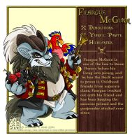 Neopet Profiles - Feargus McGunn by Quarter-Virus