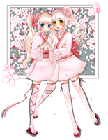 ~Twins Flower~ by candykiki