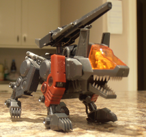 Zoids D-Style Irvine Command wolf by IrishWolven