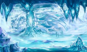 Ice Caverns by UmiKit