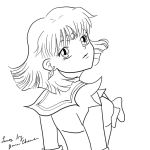 Sailor Saturn Lineart by banachana