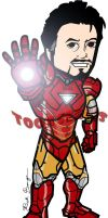 Iron Man - The Avengers by toonseries
