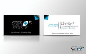:business card_GRO: by GRO-fx