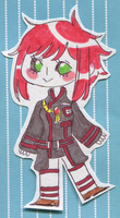 [Traditional Chibi] KnightChick by papyrus-tree