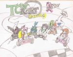 toy kart racing by deviantbuu427