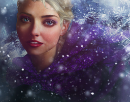 Real life - Elsa by Nikmarvel