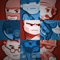 Team Fortress Grid by ShigidiShwa