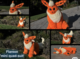 Flareon mini quad by AzShayde