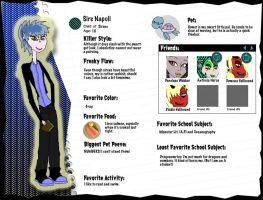 Monster High: Sire Napoli by MonMonMouse