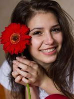 Even Flowers Smile With Me by borda