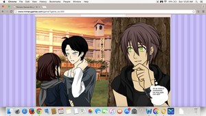 Is he finally confessing? Levi x Sarina x Eren by crystal23dragon