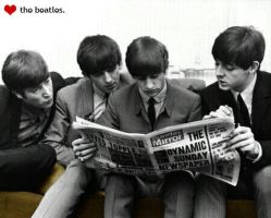 the beatles. by americanfallout