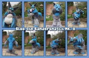 Bloo the bandersnatch MK. II by SnowGryphonSuits