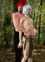 Forest Wilds :: Geoff and Xiaoping by DrowElfMorwen