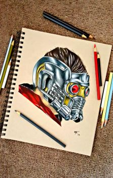 Peter Quill (Star Lord) by minidynz