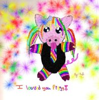 I loveded you piggy by IndifferentSociety