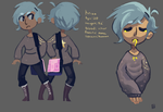Kriss character sheet by ElexiceOH