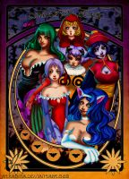Darkstalkers Girls by Atramina