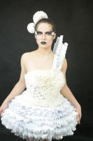 paper dress by Holietka