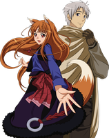 Holo et Lawrence by Frezzy0