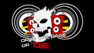 DROP THE BASS OR DIE Logo by Misucra
