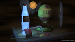 BG Competition: Dark Future - A Fallout still-life by NAkos