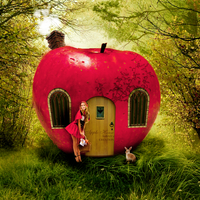 Apple House by AnBAD