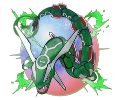 Primal Rayquaza (FANMADE) by fakemon123