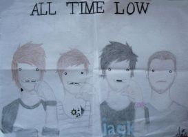 All Time Low - Mustache by CupCakeOwO