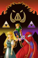 :: Triforce of the Gods :: by brigette