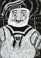 Ghostbusters-Stay-Puft-Marhsmallow-Man-4.19.14 by Dreamerzina
