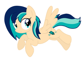 .::Commission::. Sapphire Breeze Vector by FrozenStar37615