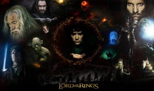 The Lord of the Rings Wallpaper by Kyl-el7