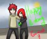 B-day gift - Gaara by Sakiro-sama