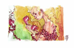 RED TELEPHONE by EricCanete