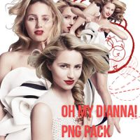Oh Dianna PNG Pack by LulithaBrito