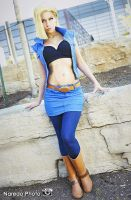 Sexy Android 18 by Queen-Azshara