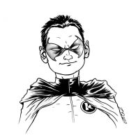 Damian Wayne by quin-ones